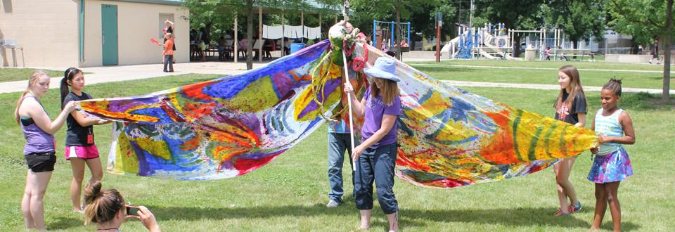 ASAP Summer Arts Camp Butterfly